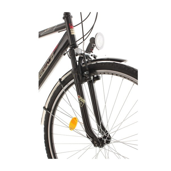 Pánsky bicykel City Bike CLX KS Black, 28""