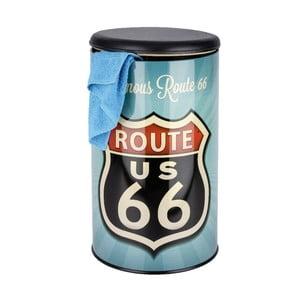 Retro kôš na špinavú bielizeň Wenko Route 66