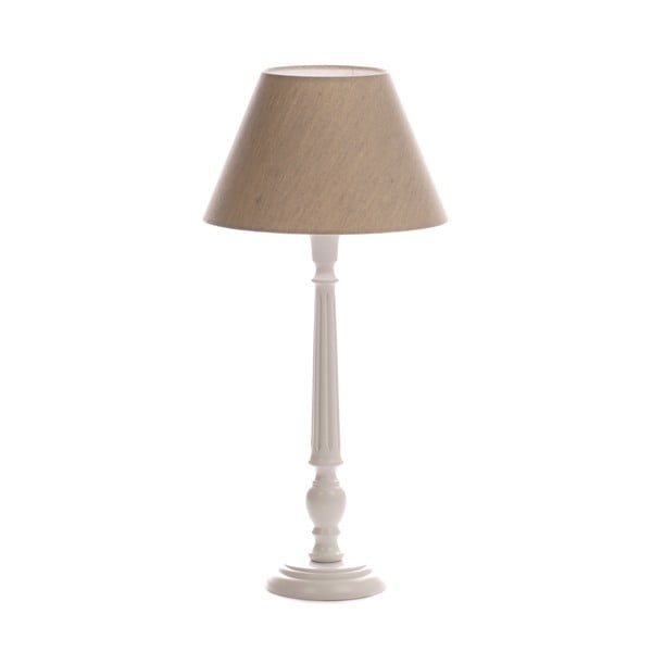 Stolná lampa Town, Grey/Washed White