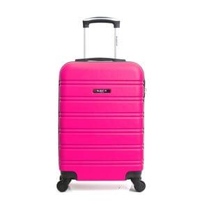 Ružový cestovný kufor na kolieskach Blue Star Bilbao, 35 l