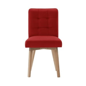 Červená jedálenská stolička My Pop Design Haring