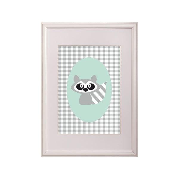 Zarámovaný obraz Raccoon Ernest
