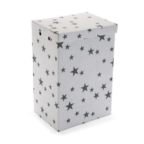 Kôš na bielizeň Stars White