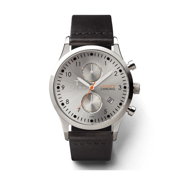 Hodinky Triwa Stirling Lansen Chrono Black