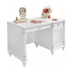 Biely pracovný stôl Romantic Study Desk