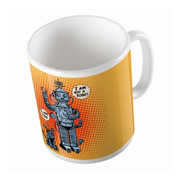 Keramický hrnček I Robot, 330 ml