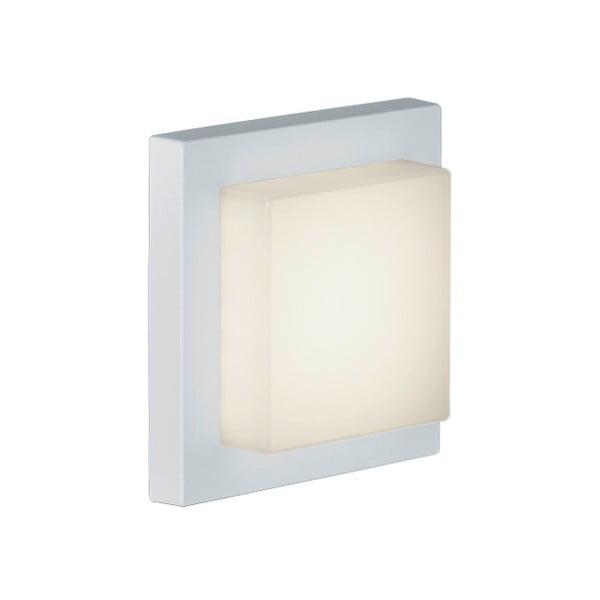 Záhradné nástenné svetlo Hondo White, 14 cm