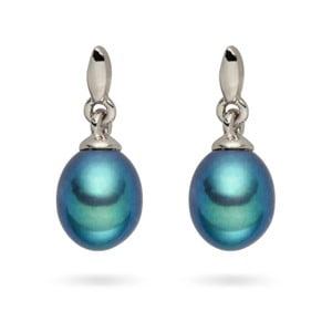 Perlové náušnice Nova Pearls Copenhagen Amorette