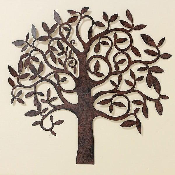 Nástenná dekorácia Tree Metal