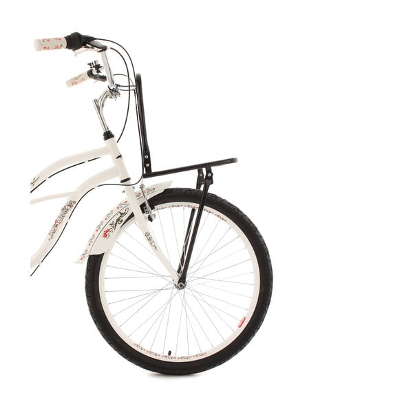 "Bicykel Beachcruiser Cargo White, 26"""