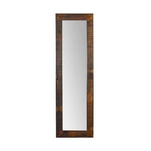 Nástenné zrkadlo z akáciového dreva Woodking Dent