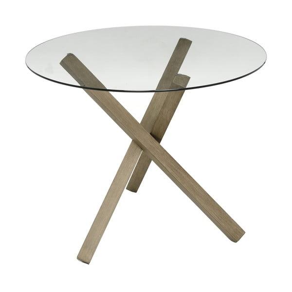 Odkladací stolík Trio Krista, 85x85x67 cm