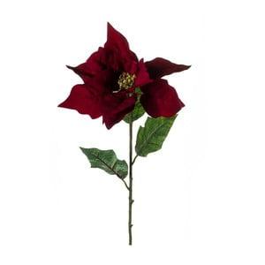 Umelý kvet Vianočná hviezda, karmínová