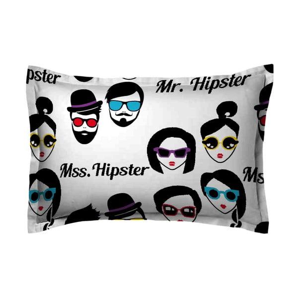 Obliečka na vankúš Hipster Face, 50x70 cm