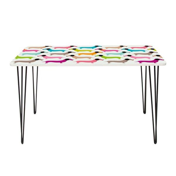 Pracovný stôl Dachshunds In Colours