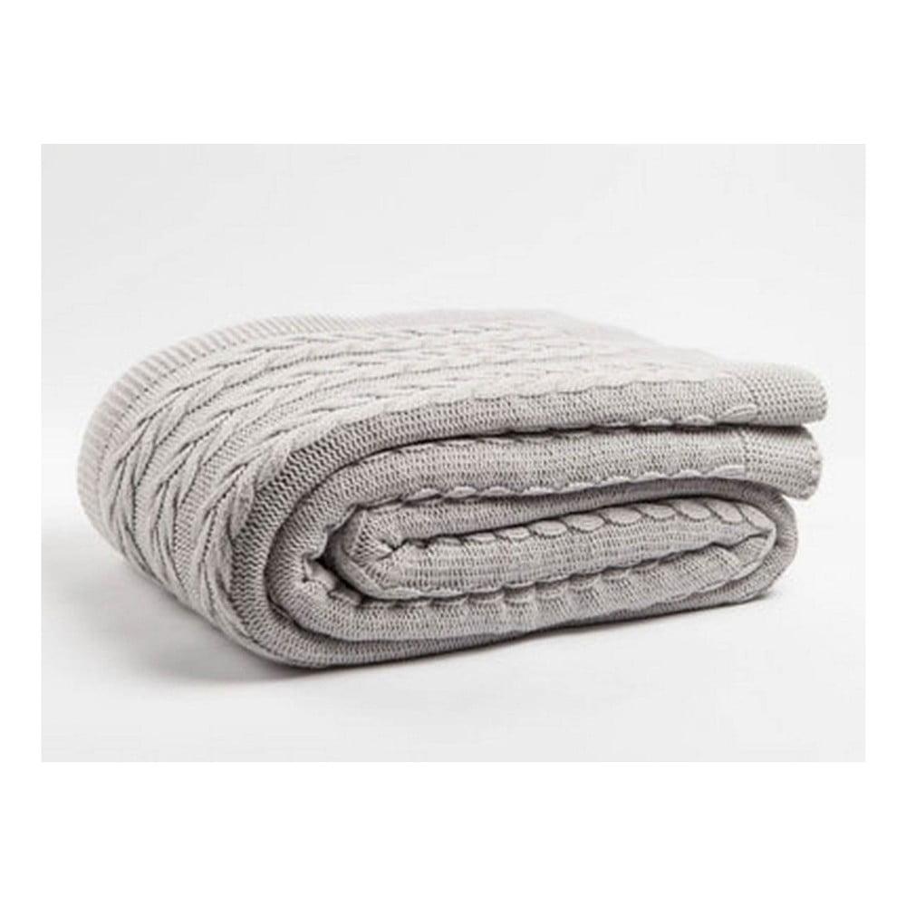 Sivobéžová deka Homemania Larina