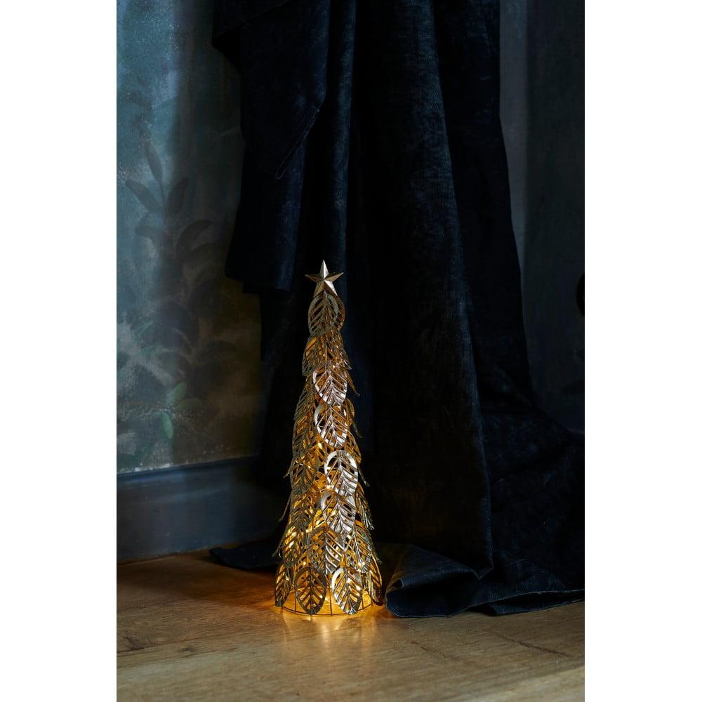 Svetelná LED dekorácia Sirius Kirstine Gold, výška 43 cm