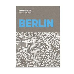 Mapa na poznámky Palomar Transparent City Berlín