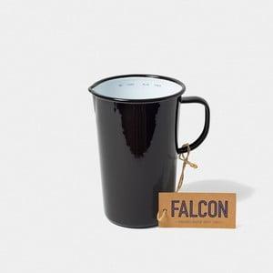 Čierny smaltovaný džbán Falcon Enamelware DoublePint, 1,137 l