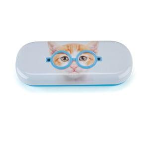 Obal na okuliare Glasses Cat