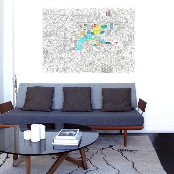 Maľovanka OMY London (70 x 100 cm)
