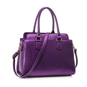 Fialová kabelka L & S Bags Hugo