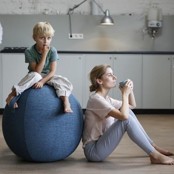 Modrá lopta na sedenie VLUV, 65cm