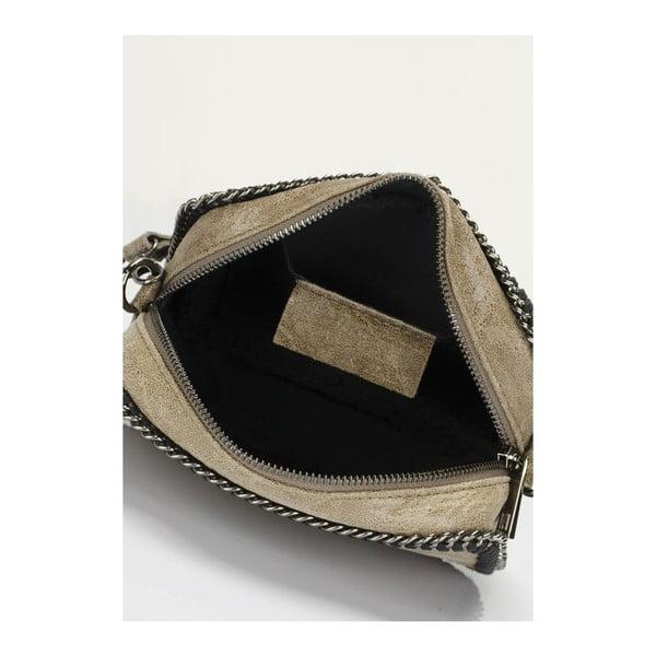 Kožená kabelka Markese 113 Fango