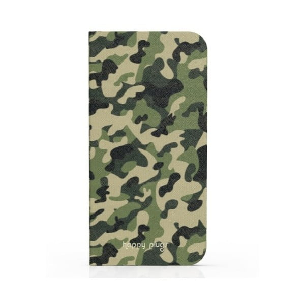 Preklápací obal Happy Plugs na iPhone 6, Camouflage