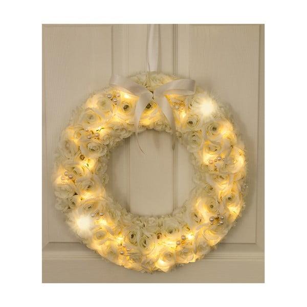 Svadobný veniec s LED svetielkami Pearl Wreath