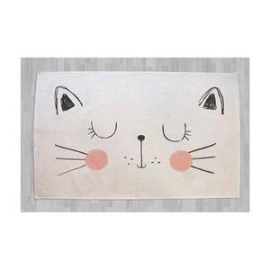 Bavlnený koberček s mačkou Little Nice Things