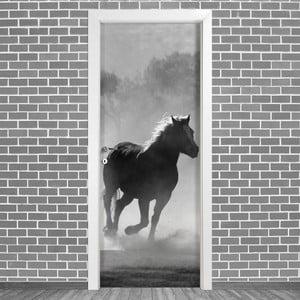 Samolepka na dvere LineArtistica Caballo, 80×215 cm