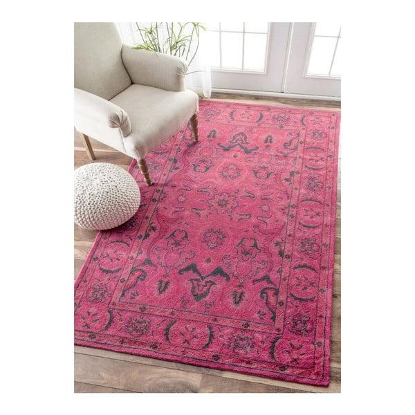 Vlnený koberec Pink Punk, 120x183 cm