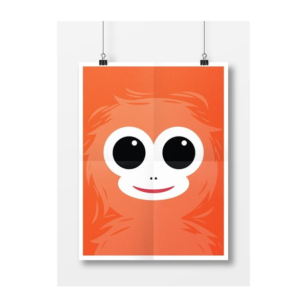 Plagát Opica, A4