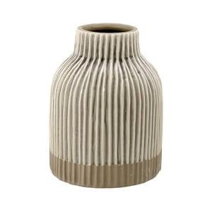 Béžová kameninová váza Ladelle Nori