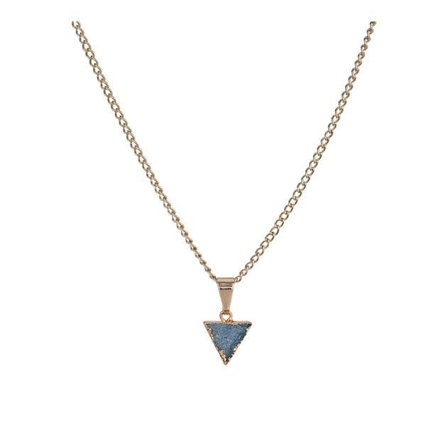 Náhrdelník s modrými minerálmi Decadorn