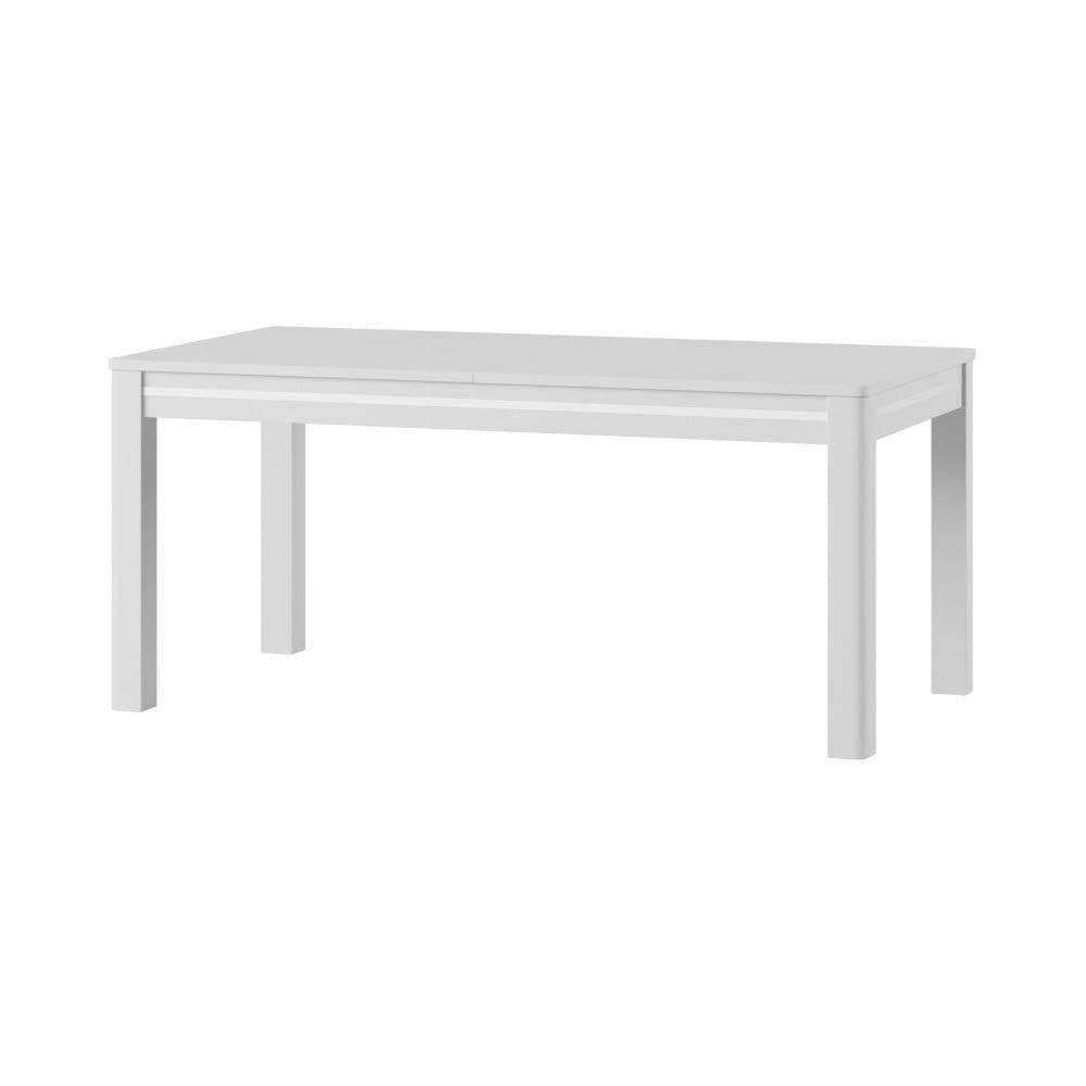 Biely rozkladací jedálenský stôl Szynaka Meble Sunny2