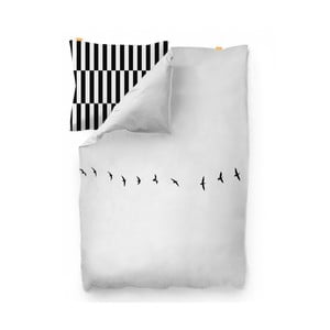 Bavlnená obliečka na paplón Blanc Trip, 140×200 cm