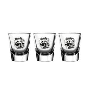 Sada 3 pohárov Vivas Shot Strike, 60 ml