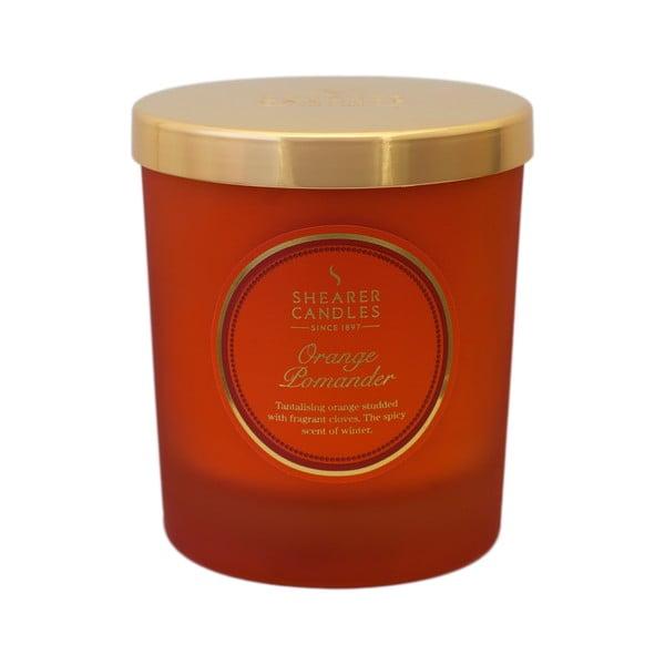 Vonná sviečka Shearer Candle, korenený pomaranč
