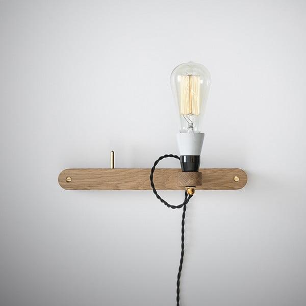 Nástenné svetlo a vešiak v jednom Stick Small