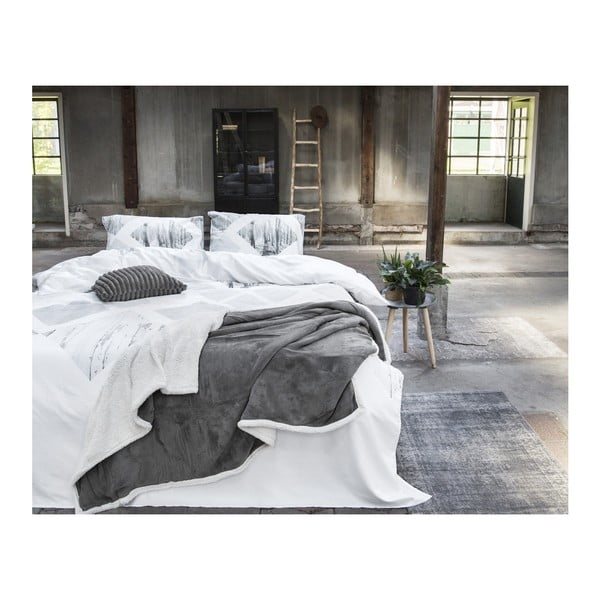 Obliečky z bavlny Dreamhouse Lanscape White, 140x220cm