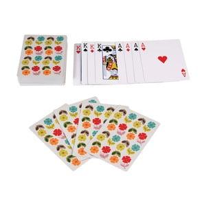 Hracie karty v plechovej krabičke Rex London Poppy