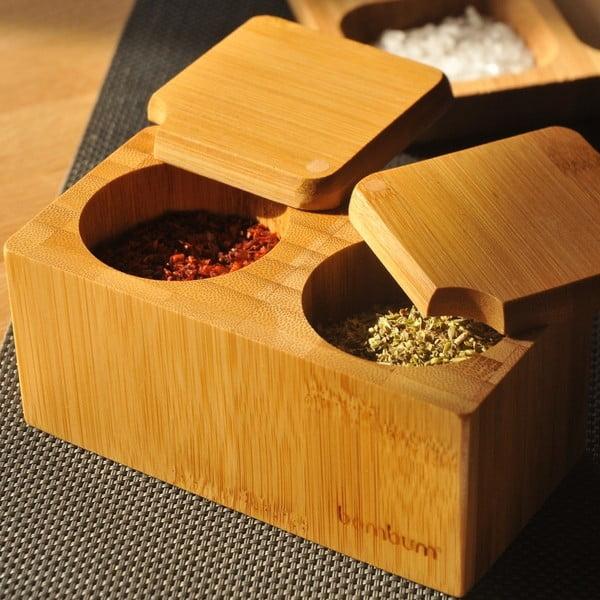 Bambusová miska na korenie Nuga