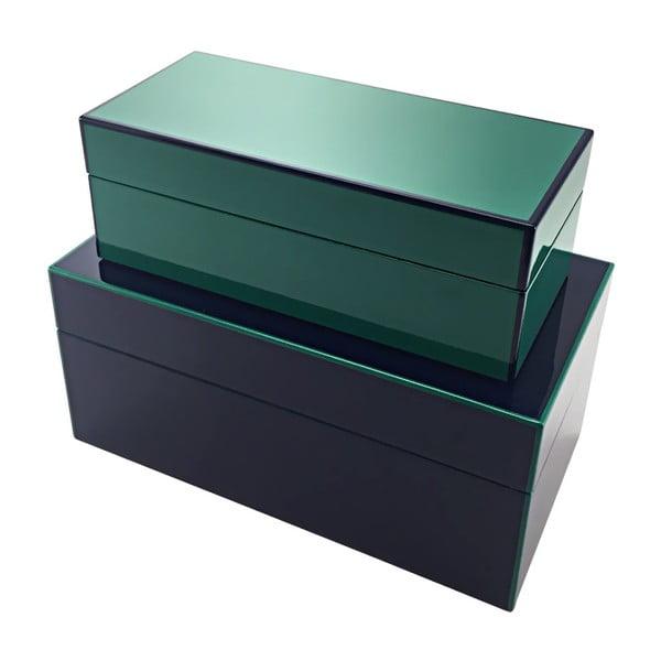 Tmavomodrá škatuľka a'miou home Doubla