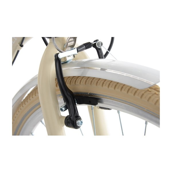 Dámsky bicykel City Bike Casino Beige Six Gang, 28""
