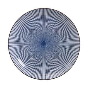 Modrý porcelánový tanier Tokyo Design Studio Yoko, ⌀ 15,5 cm