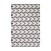 Čierno-biely koberec Think Rugs Manhattan 120x170cm