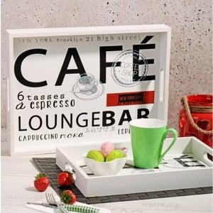Sada 2 drevených tácok Lounge Bar