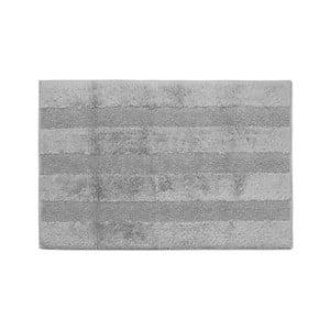 Sivá kúpeľňová predložka Jalouse Maison Tapis De Bain Argent, 60×90cm